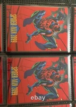1993 Marvel Universe Series 4 Two Complete Sets 2 Holograms + 21 Foils