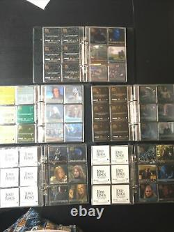 6 LORD OF THE RINGS ACTION FLIPZ Sets In ALBUMS Fellowship / Two Towers / King