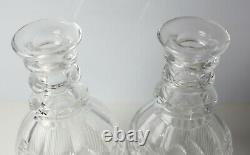 Asprey London Two Bottle Mahogany Decanter Box Tantalus c1900 Royal Brierley