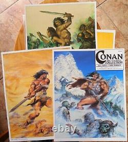 Conan the Classics Collection Set Two Earl Norem Portfolio 293 of 2000