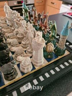 DEAGOSTINI Magazine Harry Potter Chess Set Complete Two Sets