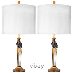 Design Toscano Servant to the Egyptian Pharaoh Table Lamp Set of Two
