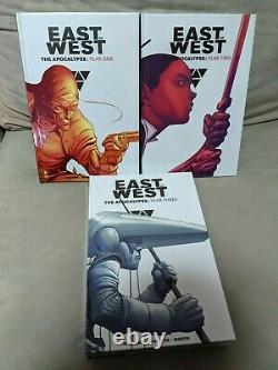 East Of West 3-hc Vol Set! -year One, Year Two, Year Three! By Jonathan Hickman