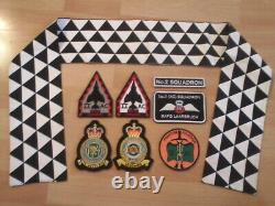 F-4 Phantom Royal Air Force Laarbruch No. 2 Squadron Shiny Two Patch Set + Scarf