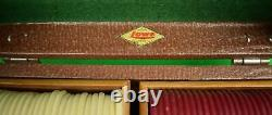Gaming Set of Two Trays of Clay Poker Horse Racing Chips with 2 Decks of Cards