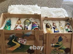 Gorgeous POLONAISE NIB Wizard Of Oz Two Sets Never Displayed