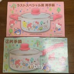 Hello Kitty Two-handed hot pot and One-handed hot pot SET New FS
