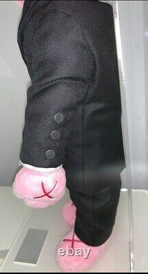 Kaws Dior BFF Plush (set of Two) Pink & Black Limited Collectible Only 500 Made