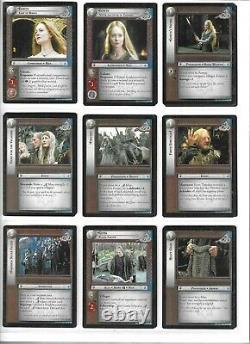 LORD OF THE RINGS LoTR THE TWO TOWERS COMPLETE SET OF 365 CARDS PLUS MORE