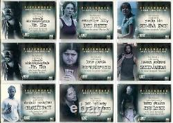 Lost Season 2 Two (14) Pieceworks Costume Card Set PW1-PW11 with PW12A + PW12B