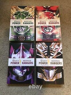 Mighty Morphin Power Rangers Deluxe Edition Hardcover Year One Two Grid OOP HTF