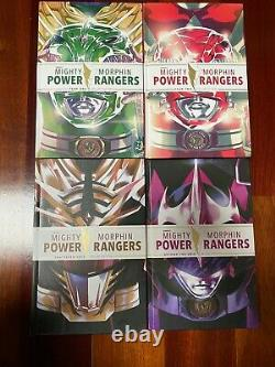 Mighty Morphin Power Rangers Deluxe Hardcover Lot Set Year One Two Grid Boom