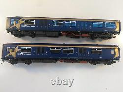 OO Gauge Bachmann Class 150 Two Car DMU Set in First North Western Livery