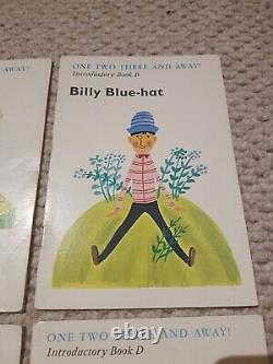 One two Three and Away Introductory books A to D set Roger Redhat Ultra rare