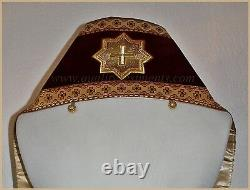 Orthodox Bishop's Vestment Omophors German Velvet set of two