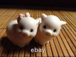 $ PRECIOUS MOMENTS NOAHS ARK TWO 2 BY 2 LOT 11 PIECE SET 2 x 2 COLLECTIBLES