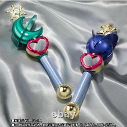 PROPLICA Transformation Lip Rod Sailor Moon Uranus & Neptune Set of two NEW F/S