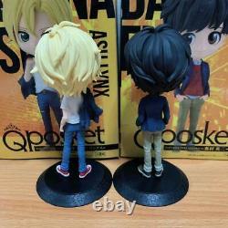 Q posket Banana fish Two-body set Figure Ash Links Eiji Okumura Anime Manga JPN