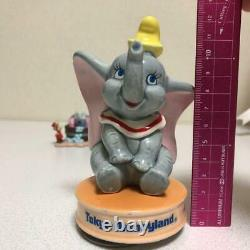 Rare Limimted Dumbo two figures set official Tokyo Disney Resort JP Used GC