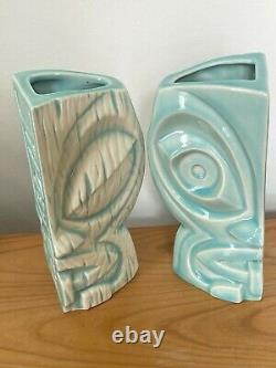 SET of TWO 2 Tiki Kon Tiki-Koa 2020 Mug Two-sided Eye of the Tiki Vantiki /400