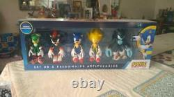 Sega Two Set 17 cm Figures Sonic Hedgehog Collection Rare Toy Action Movie Tv