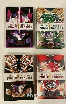 Set Of 4 MM Power Rangers Year One, Two, Shattered Grid. Beyond Grid Deluxe Hc's