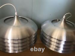 Set of Two Mid Century Pendant Light by Hans Agne Jakobsson, Sweden, 1960s