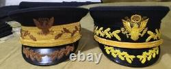 Set of two ww1 US army general hats