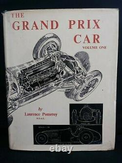 THE GRAND PRIX CAR by Pomeroy 1954 Two Volume Set + Unofficial 3rd Volume