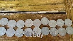 TWO FULL SETS Olympic 50p Of 29 Coins slightly Circulated Collected 2012