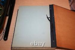 The HEMPHILL DIESEL ENGINEERING SCHOOLS Verbal Notes and Sketches LOT SET OF TWO