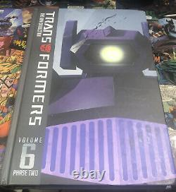 Transformers IDW Collection Phase One Hardcover LOT Vol. 4-8, Phase Two Vol 1-6