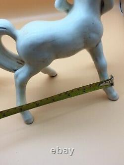 VTG Anthony Freeman McFarlin Rutledge Centaur Figurines Art Pottery Set Of Two