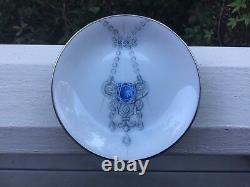 Van Cleef & Arpels (Set of Two 4) Perlee Frivole Alhambra Porcelain Ring Trays
