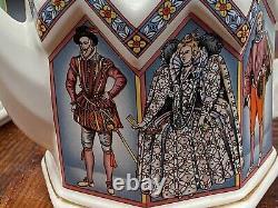 Vintage Set Of Two Sadler Teapots Queen Elizabeth And Duke Of Wellington