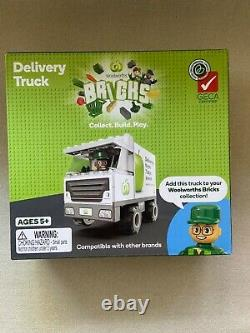 Woolworths Bricks ALL Complete Full Set Of 40+TWO Trucks+Deluxe +Figurine Pack