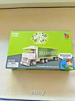 Woolworths Bricks ALL Complete-Full Set Of 40+TWO Trucks+TWO Starter +Figurine