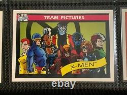 1990 Marvel Universe Trading Card Series 1 Deux Ensembles Complets Avec Tous Les Hologrammes