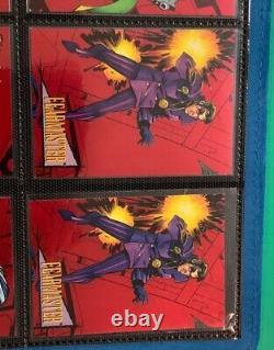 1993 Marvel Universe Series 4 Deux Ensembles Complets 2 Hologrammes + 21 Foils