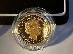 2007 Gold Proof 2 Pièces Collections Complètes Et Demi-souveraines Ensemble Limité