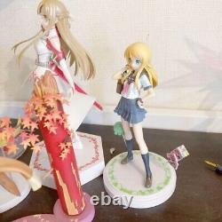 Anime Mixte Girls Figure Lot Set Zéro Deux Darling Dans La Franxx, Sao, Oreimo F8067