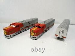 Athearn Ho 3305 Pa-1 Pwr Loco & Two Dummy Engines 3 Set Nos New Mib (oo1387)