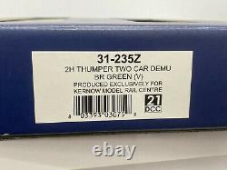 Bachmann 31-235z 2h Thumper Deux Voitures Demu Br Green (v) Classe 205 2