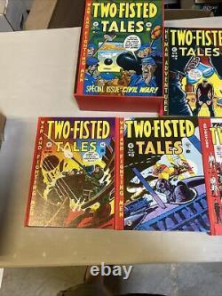 Bibliothèque De La Ce Deux -tales Gravées Russ Cochran Pub. Ensemble De 4 Volumes Avec Slipcase 1980