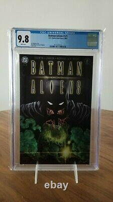Cgc 9.8 Ensemble Complet 1 2 3 Batman Aliens Two II Joker 2003 DC Dark Horse Wow