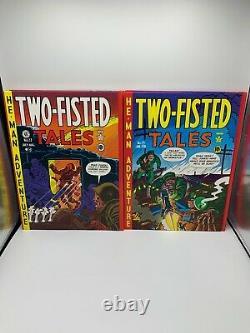 Comic Ec Tales À Deux Volets Complete Vol. 1-4 1980 Hc/slipcase Russ Cochran