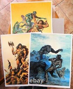 Conan The Classics Collection Set Deux Earl Norem Portfolio 293 De 2000