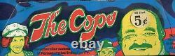 Cops Set Monty Gum (1976) Série 2 Two Vintage Card Box