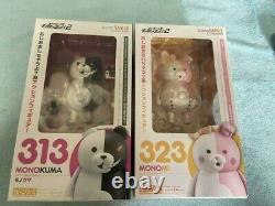 Danganronpa 2 Nendoroid Mono Bear 313 Monomi 323 Deux Set