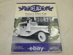 Delage France's Finest Car Two Volume Book Set Daniel Cabart Signed #517